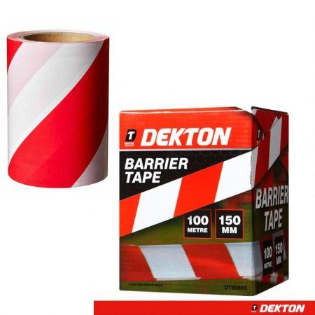 Ταινία Φραγμού - Dekton 150mm X 100m Barrier Warning Tape - DT90865