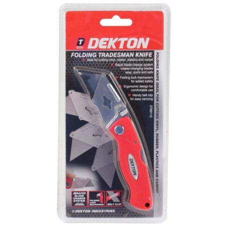 DEKTON Folding Tradesman Knife DT60110 - DT60110