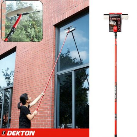 DEKTON TELESCOPIC WINDOW CLEANING KIT DT95110 - skroutz.com.cy
