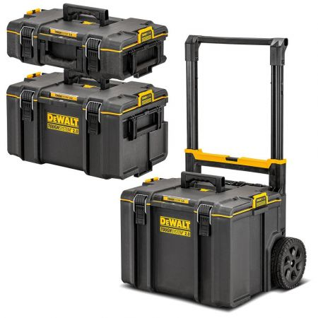 DeWalt TOUGHSYSTEM 2.0 3-in-1 Stackable Storage Tool Box System DWST83402-1 - skroutz.com.cy