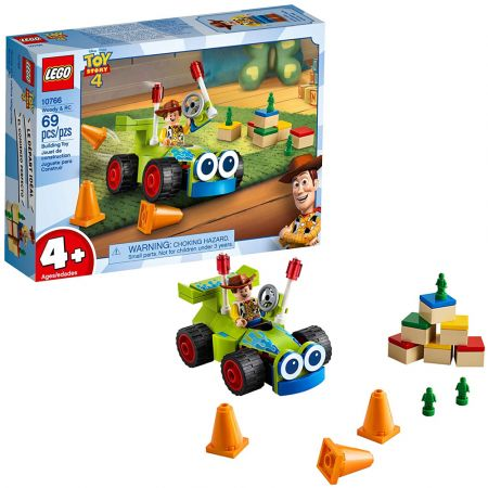 LEGO Juniors Disney Toy Story Woody & RC 10766 - skroutz.com.cy