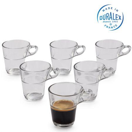 Duralex - Caprice Clear Glass Moka/Espresso Cup 90 ml - skroutz.com.cy
