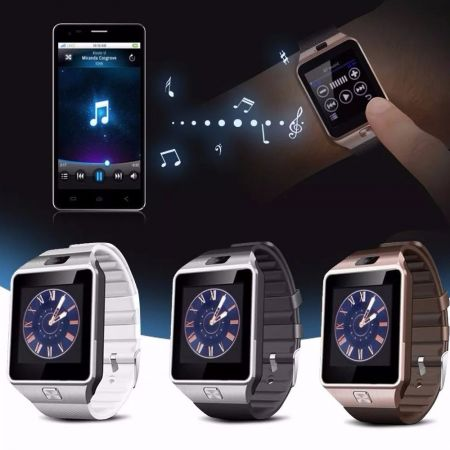 Smartwatch DZ09 Bluetooth Συμβατό με iOs & Android