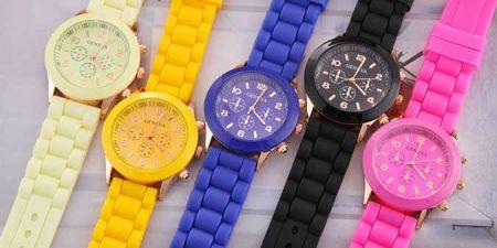 Καταπληκτικό Unisex Ρολόι GENEVA σε 3 Υπέροχα Χρώματα