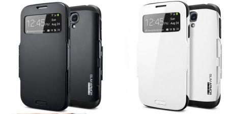 Θήκη Spigen SGP Slim Armor για Samsung Galaxy S4 σε Άσπρο Χρώμα