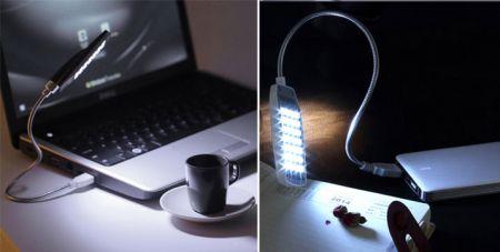 Φωτιστικό USB με 28 LED και Ρυθμιζόμενη Κλίση