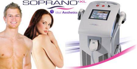 Αποτρίχωση με το SopranoXL για Γυναίκες & Άντρες-ideal Aesthetics, Λεμεσός