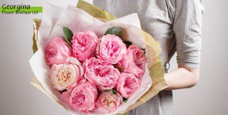 Μπουκέτο με Διάφορα Λουλούδια Εποχής-Λευκωσία