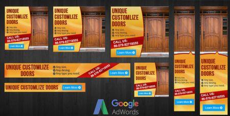 Banner σε Δημοφιλείς Διαστάσεις - Google Adwords