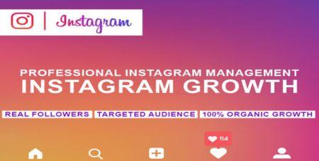 Διαχείρηση Ανάπτυξης Instagram Growth Managment