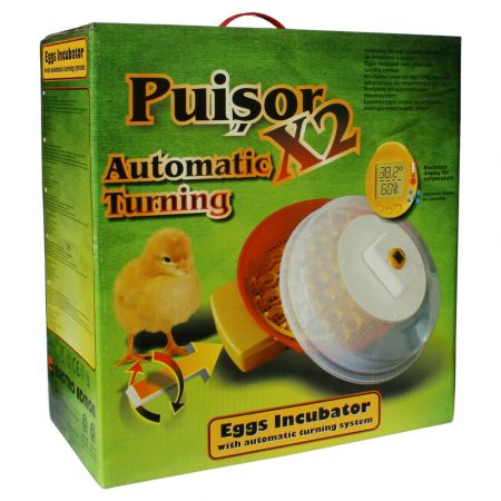 Αυτόματη Εκκολαπτική Μηχανή 51 Θέσεων Egg Incubator Puisor IO 104 - skroutz.com.cy