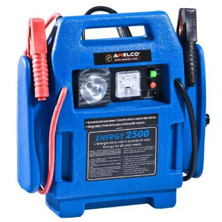 AWELCO BOOSTER ENERGY 2500 12V-24V 17Ah 300A - Portable Battery Starter