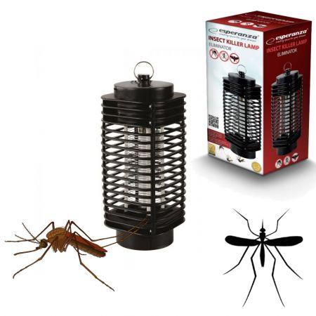 Εντομοπαγίδα με Λάμπα UV-A Eliminator Esperanza EHQ002 - Skroutz.com.cy