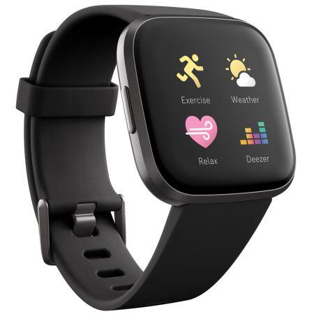 Fitbit Versa 2 (Black / Carbon) - skroutz.com.cy