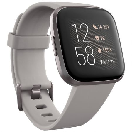 Fitbit Versa 2 Smartwatch - Γκρι FB507GYSR - Health & Fitness Smartwatch - Skroutz.com.cy
