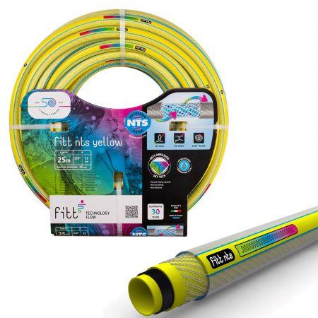 Ίσως το καλύτερο λάστιχο κήπου - Fitt nts yellow water hose fit - 25meters - skroutz.com.cy