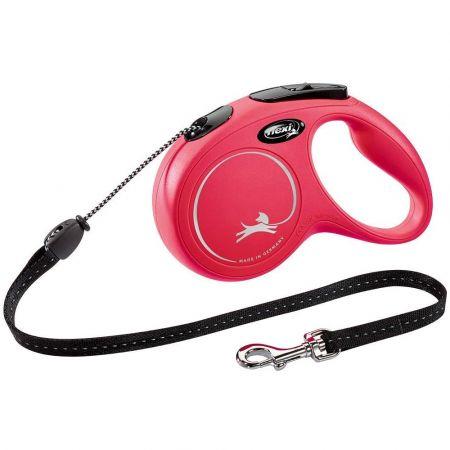 Flexi Πτυσσόμενο Λουρί/Οδηγός Σκύλου Ιμάντας 5m έως 15kg (Κόκκινο) - flexi New Classic Retractable Lead Cord, Small, Red - skroutz.com.cy