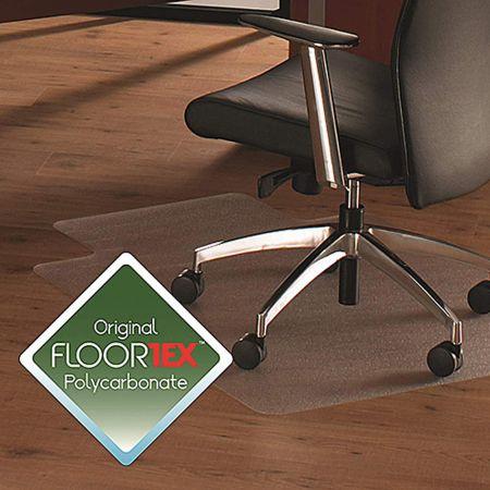 Floortex Clear Polycarbonate Chairmat with Lip 119x89cm FTX-FC128919LR