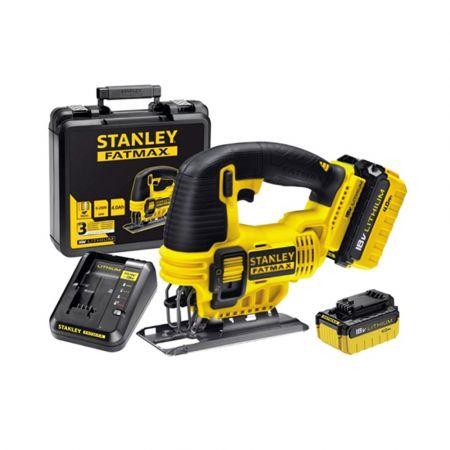 Stanley FMC650M2 Σέγα 18V Lion (2x4.0Ah) Με 2 Μπαταρίες - skroutz.com.cy