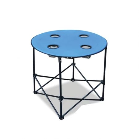 foldable camping round table 70cm skroutz.com.cy