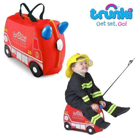 Trunki Παιδική Βαλίτσα Ταξιδίου Frank The Fire Engine - skroutz.com.cy