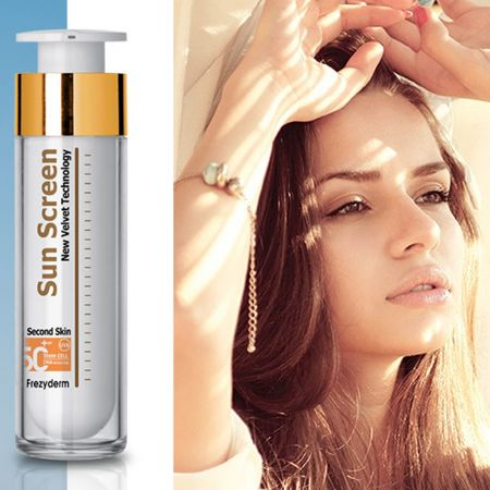 Frezyderm Αντηλιακό Προσώπου με Χρώμα SPF50 - Sun Screen Color Velvet Face Cream - skroutz.com.cy