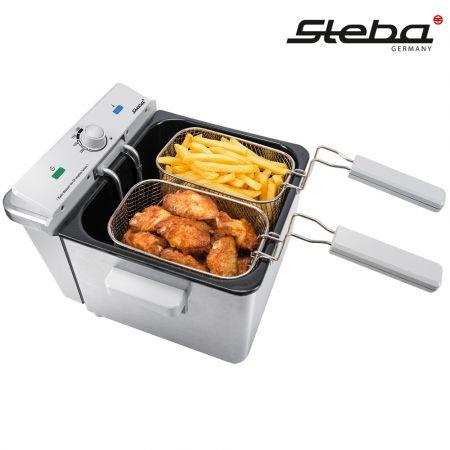 Φριτέζα Steba DF 200 - Stainless Steel Deep Fryer (4 Λίτρα.) - skroutz.com.cy