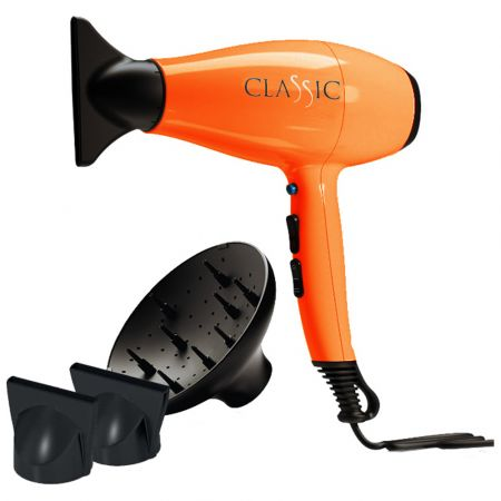 GA.MA Επαγγελματικό Σεσουάρ Μαλλιών A11.CLASSIC.AR Πορτοκαλί
