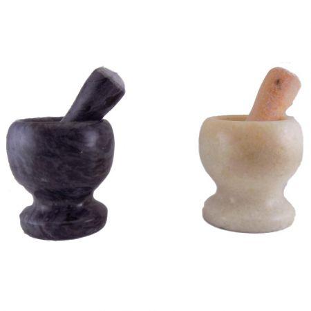 Σετ Γουδί και Γουδοχέρι από μάρμαρο 10x10.5 cm - skroutz.com.cy