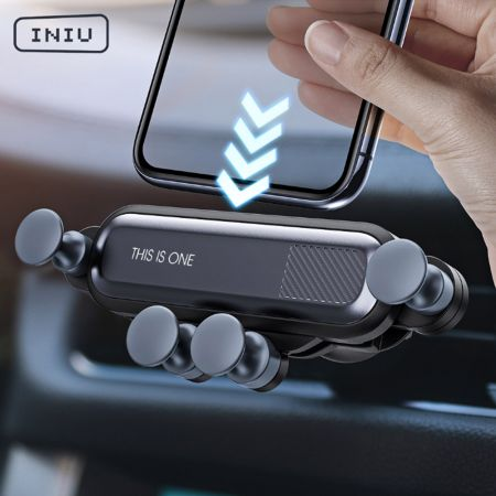 Gravity Car Holder For Phone in Car Air Vent Clip Mount No Magnetic Mobile Phone Holder GPS Stand For iPhone XS MAX Xiaomi - Skroutz.com.cy