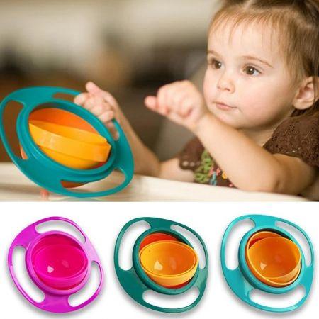 Universal Gyro Bowl - To έξυπνο Μπολ για Παιδιά, που συγκρατεί στη Θέση του το Γεύμα - Skroutz.com.cy