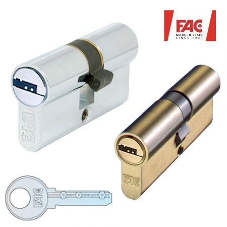 Κλειδαριές Κύλινδροι Ασφαλείας με 5 Κλειδιά Ασφαλείας - High Security Europrofile Cylinder - skroutz.com.cy