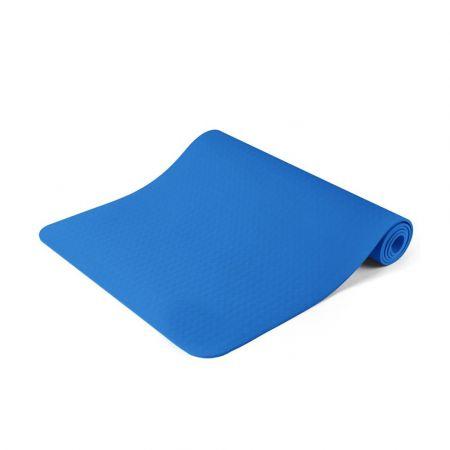 Στρώμα Γιόγκα με Θήκη Μεταφοράς Χρώματος Μπλε Hoppline HOP1000972-2 - Skroutz.com.cy