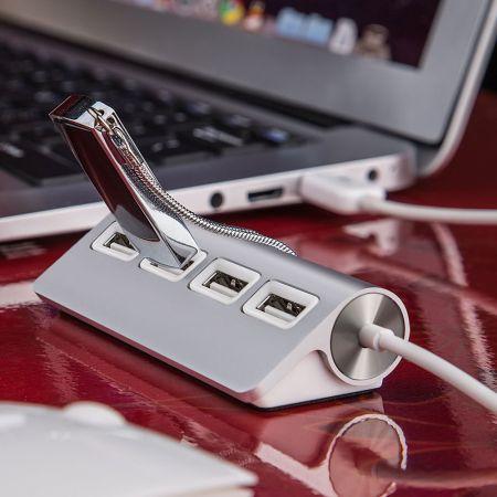 Φορητός Προσαρμογέας με 4 Επιπλέον Θύρες USB