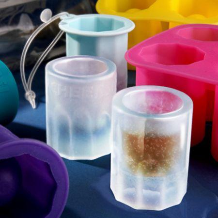 5 Σφηνάκια Φτιαγμένα από Πάγο - Silicone Zans - skroutz.com.cy