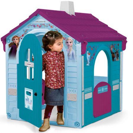 INJUSA Disney Elsa and Anna Garden House Frozen II, Blue 20337 - playhouse - skroutz.com.cy