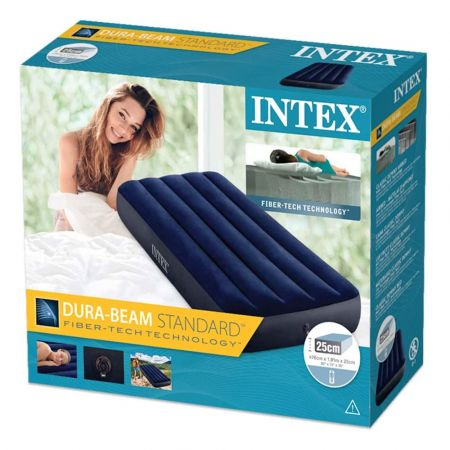 Intex Inflatable Bed Airbed 76X191X22CM 1 PERSON - skroutz.com.cy