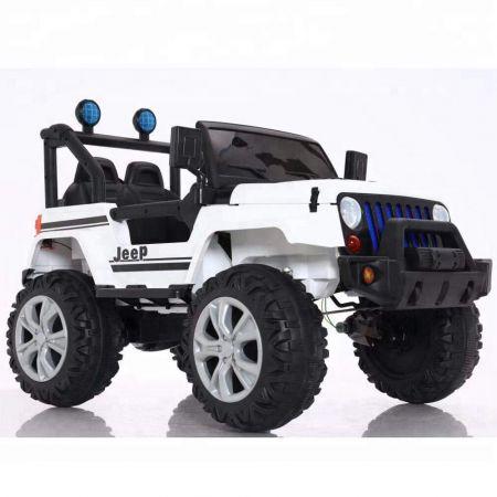 Ηλεκτροκίνητο Όχημα Jeep CAR 6688 WHITE 12V7AH B/O R/C CHILDREN - 1102090 - skroutz.com.cy
