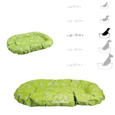 Karlie flamingo κρεβατάκι για μακρόστενο σκύλο cushion for dog oval leafbay 80x60x14cm - skroutz.com.cy