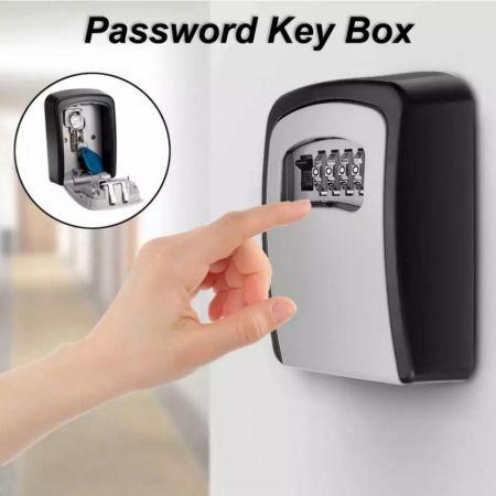 Κουτί Αποθήκευσης Κλειδιών Επιτοίχιο με Συνδυασμό 4 Ψηφίων - Keysafe KS 10