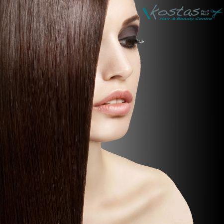 Ισιωτική μαλλιών με Κερατίνη! Θεραπεία Αμερικανικής Προέλευσης με 0% Φορμαλδεΰδη! - skroutz.com.cy