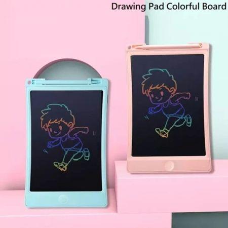 """Ψηφιακός Πίνακας Γραφής - Σημειωματάριο 8.5"""" Μπλέ - LCD Writing Tablet Blue"""