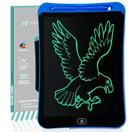 """Ηλεκτρονικό Σημειωματάριο με Οθόνη 10"""" Μπλε - LCD Writing Tablet 10"""" Light Blue - skroutz.com.cy"""