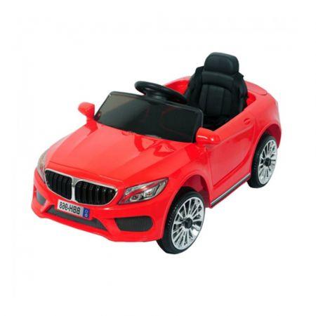 BATTERY CAR FOR KIDS MERCEDES 12V RED LQ869 -RED - skroutz.com.cy