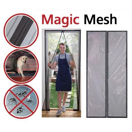 Μαγική Σίτα για Πόρτες, Magnetic Mesh - skroutz.com.cy
