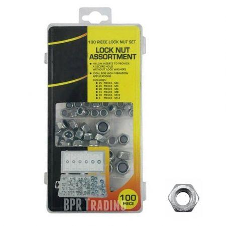Maxifix 100pc lock nut set