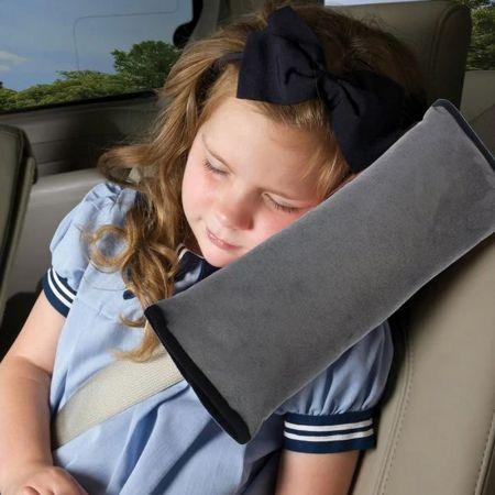 Μαλακό κάλυμμα για τη ζώνη ασφαλείας του αυτοκινήτου - Γκρίζο - Skroutz.com.cy