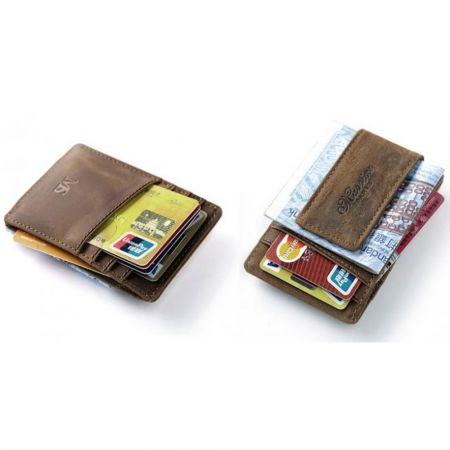 2019Hot Men Wallets Genuine Leather Card Holder Wallet Men's Purse Unisex Handy Bag - skroutz.com.cy