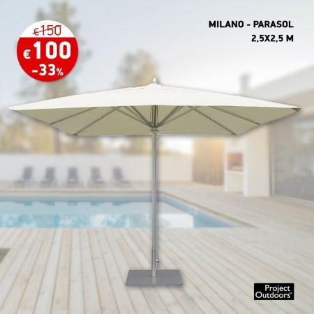MILANO - PARASOL 2.5x2.5 M