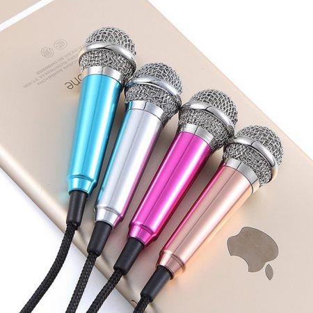 Mini Μικρόφωνο Ηχογραφήσεων & Karaoke για Κινητά, Smartphones, Tablets & Η/Υ - skroutz.com.cy